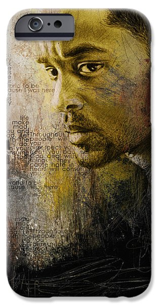 Carroll iPhone Cases - Will Smith iPhone Case by Corporate Art Task Force