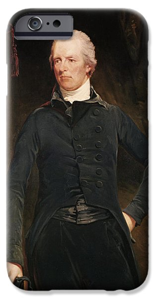 1801 iPhone Cases - William Pitt The Younger 1759-1806 Oil On Canvas iPhone Case by John Hoppner