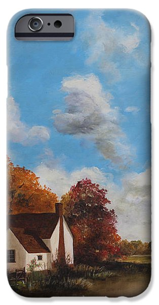 Willy Lott's Cottage iPhone Case by Cecilia  Brendel
