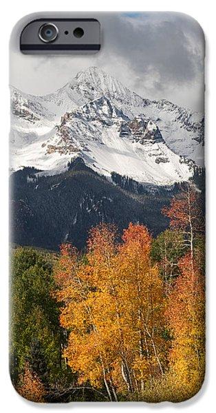 Dominating iPhone Cases - Wilson Peak Colorado iPhone Case by Aaron Spong