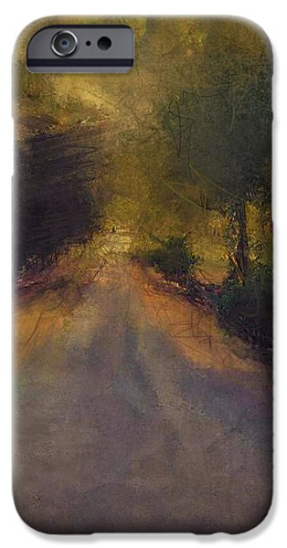 Wilsonville road iPhone Case by W i L L Alexander
