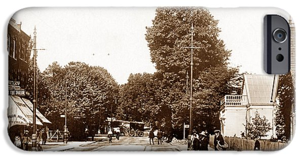 Wimbledon Photographs iPhone Cases - Wimbledon Hill London England iPhone Case by The Keasbury-Gordon Photograph Archive