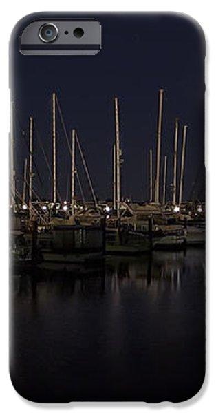 WINCHESTER BAY MARINA - OREGON COAST iPhone Case by Daniel Hagerman