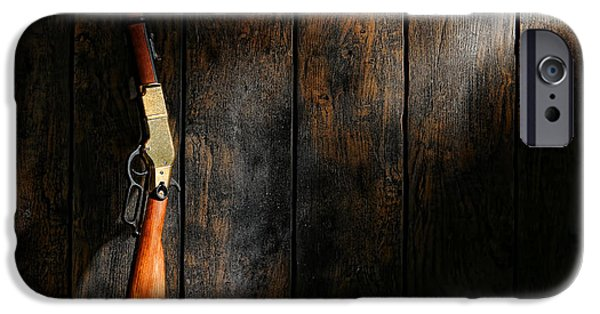 Ammunition iPhone Cases - Winchester iPhone Case by Olivier Le Queinec