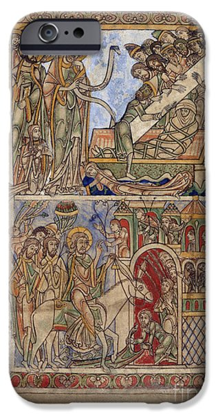 Miracle iPhone Cases - Winchester Psalter iPhone Case by British Library
