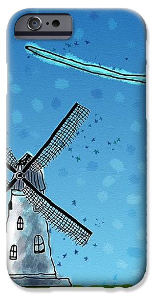Wind Blows iPhone Case by Gianfranco Weiss