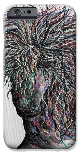 The Horse iPhone Cases - Wind iPhone Case by Eloise Schneider