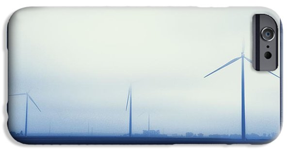 Electrical iPhone Cases - Wind Power iPhone Case by Dan Sproul