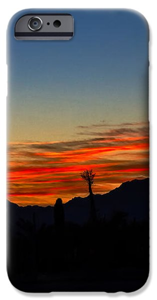 Windmill Silhouette iPhone Case by Robert Bales