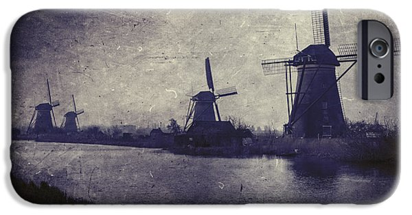 Old Mills iPhone Cases - Windmills iPhone Case by Joana Kruse