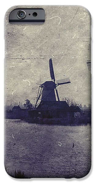 windmills iPhone Case by Joana Kruse