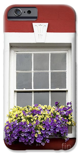 Window and Walls Triptych - Canvas 2 iPhone Case by Natalie Kinnear