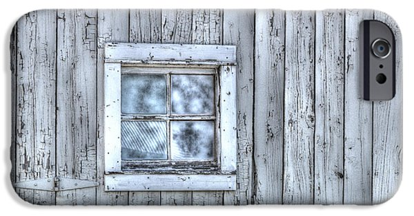 Wooden Building iPhone Cases - Window iPhone Case by Juli Scalzi