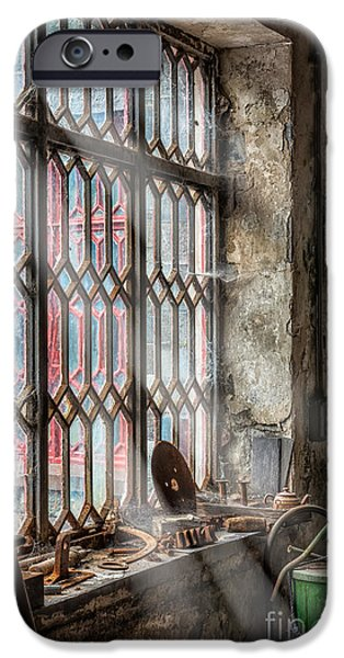 Ledge iPhone Cases - Window Decay iPhone Case by Adrian Evans