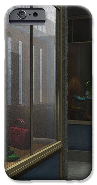 Window Shopping iPhone Case by Cynthia Decker