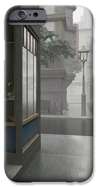 Shop Windows iPhone Cases - Window Shopping iPhone Case by Cynthia Decker