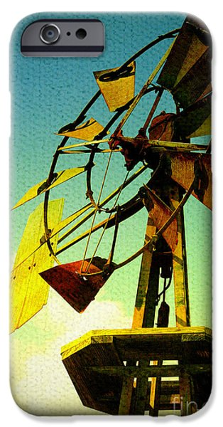 Farm Stand iPhone Cases - Winds of Change iPhone Case by Trish Mistric