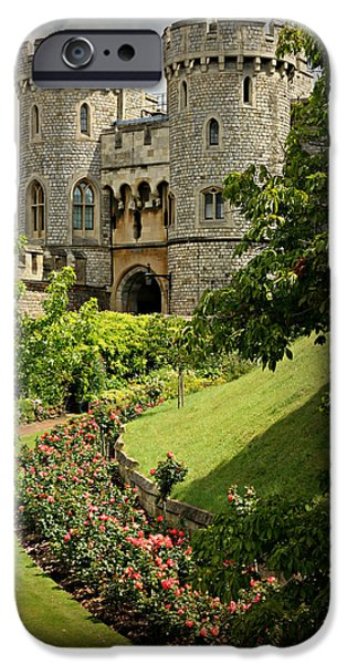 Recently Sold -  - Floral Photographs iPhone Cases - Windsor Castle Gardens iPhone Case by Stephen Stookey