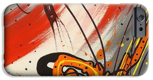 Windsurfer iPhone Cases - Windsurfer Center iPhone Case by Darren Robinson