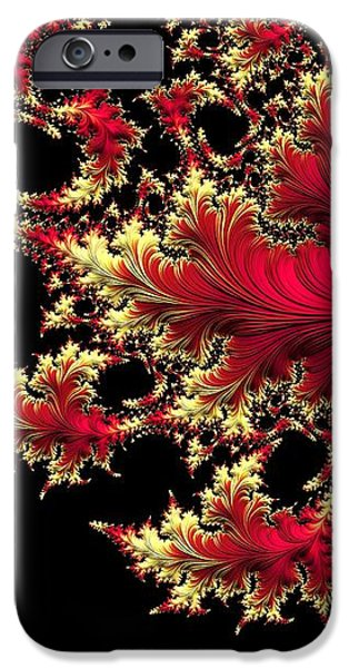 Modern Abstract iPhone Cases - Windswept iPhone Case by Susan Maxwell Schmidt