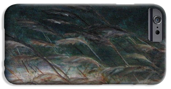 Windblown Paintings iPhone Cases - Windward iPhone Case by Doris Roland