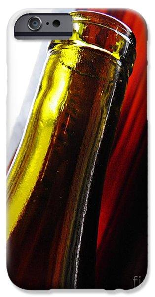 Wine Bottles iPhone Cases - Wine Bottles 13 iPhone Case by Sarah Loft