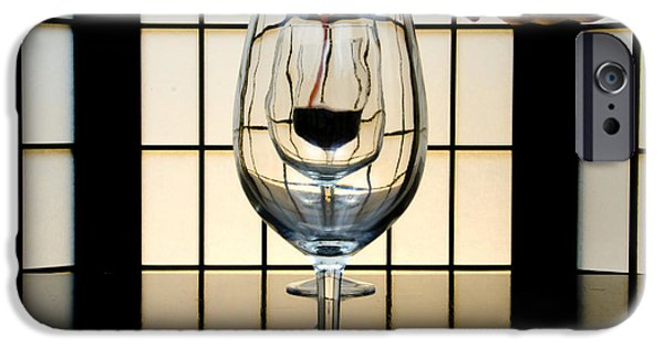 Wine Service Photographs iPhone Cases - Wine for Three iPhone Case by John Debar