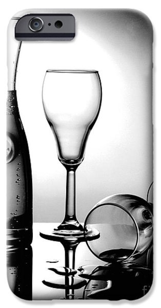 Gary Gingrich iPhone Cases - Wine Glasses iPhone Case by Gary Gingrich Galleries