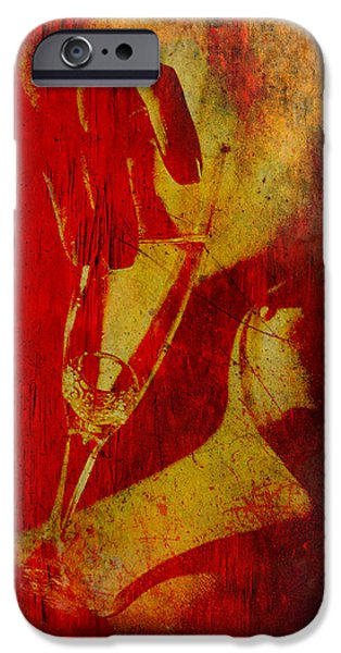 Rust iPhone Cases - Wine-O Matic iPhone Case by Greg Sharpe