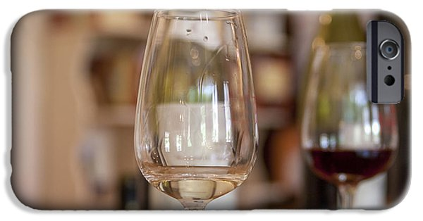 Winetasting iPhone Cases - Wine tasting iPhone Case by Patricia Hofmeester