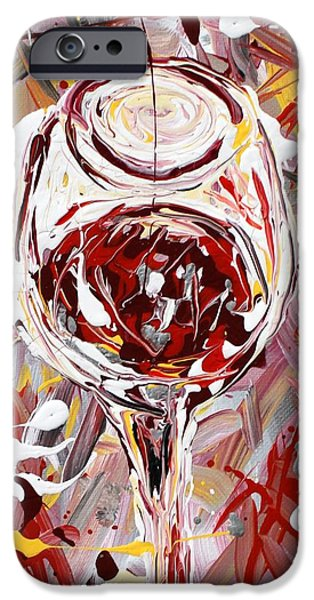 Wine Legs iPhone Cases - Wine Time iPhone Case by Mark Stiles