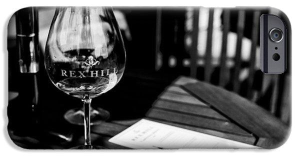 Winetasting iPhone Cases - Winetasting iPhone Case by  Kelly Hayner