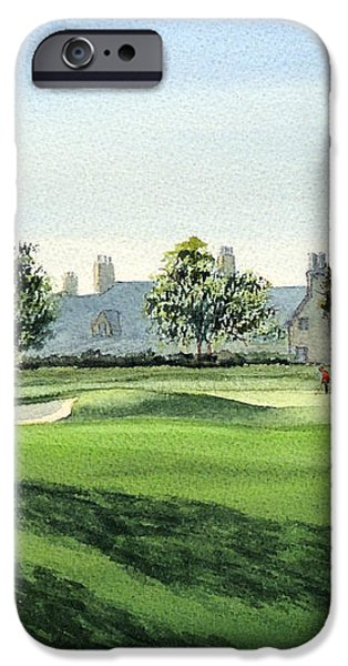 Winged Foot West 18Th Hole iPhone Case by Bill Holkham