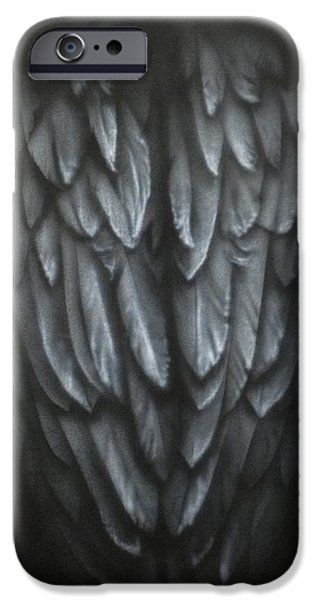 Recently Sold -  - Airbrush iPhone Cases - Wings iPhone Case by Kelly Everill