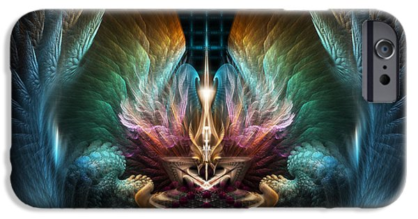 Epic iPhone Cases - Wings Of Artillian iPhone Case by Rolando Burbon