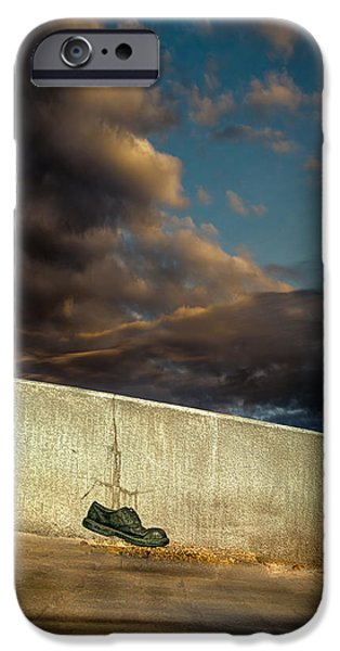 Wingtips  iPhone Case by Bob Orsillo