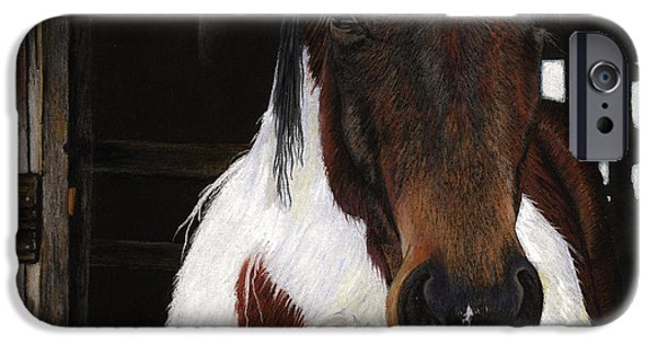 Horse Racing Pastels iPhone Cases - Winners Circle iPhone Case by Carol McCarty