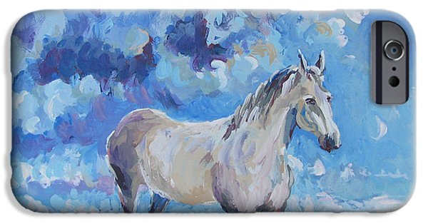 The Horse iPhone Cases - Winston iPhone Case by Vanessa Hadady BFA MA