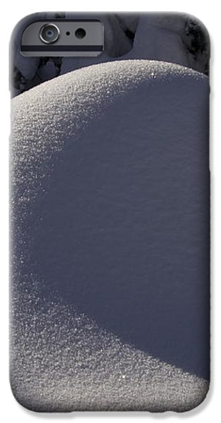 Winter Abstract iPhone Case by Sean Griffin
