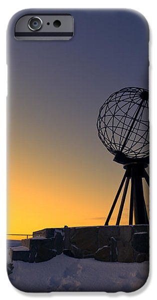 Winter beyond the arctic circle iPhone Case by Ulrich Schade