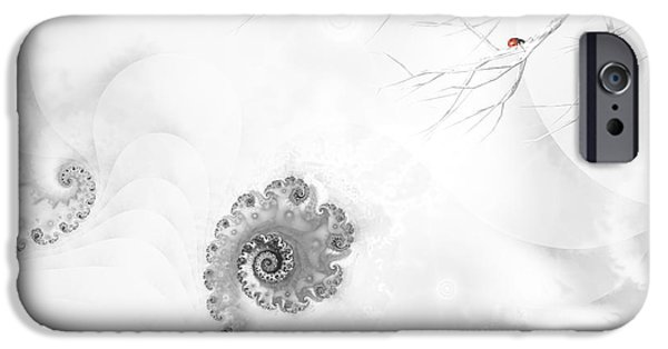 Winter Scene iPhone Cases - Winter calls iPhone Case by Sharon Lisa Clarke