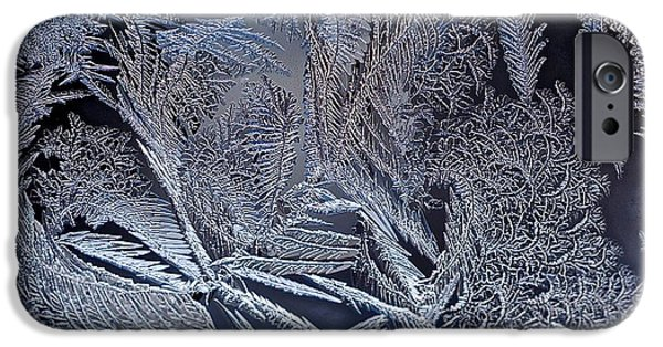 Asymmetrical iPhone Cases - Winter Chill iPhone Case by James Levasseur