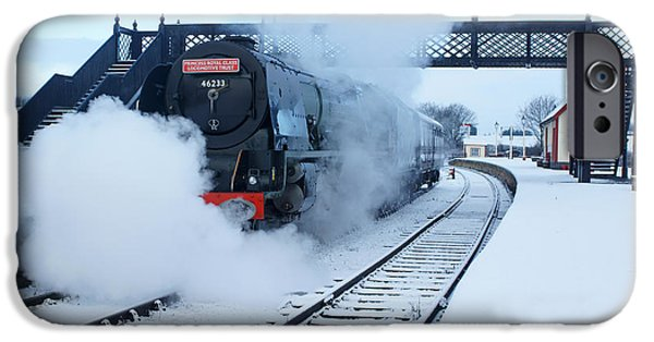Duchess iPhone Cases - Winter Departure iPhone Case by David Birchall