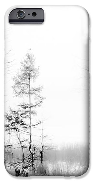 Winter Drawing iPhone Case by Jenny Rainbow