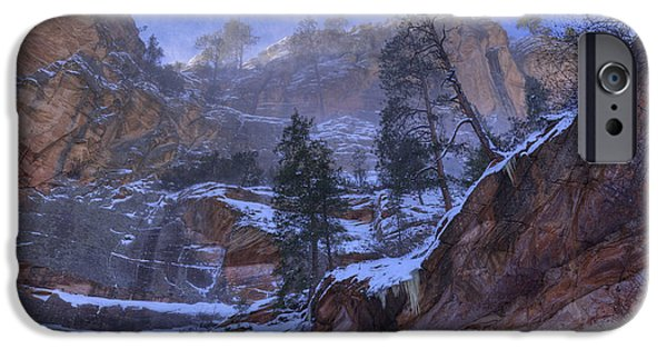 Oak Creek iPhone Cases - Winter Dream iPhone Case by Sue Cullumber