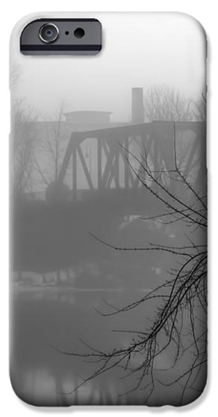 Winter Fog iPhone Case by Bob Orsillo