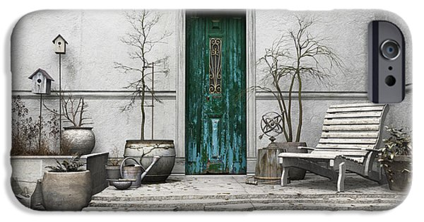 Sanctuary iPhone Cases - Winter Garden iPhone Case by Cynthia Decker