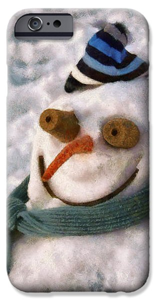Winter - I'm ready for my closeup iPhone Case by Mike Savad
