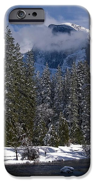 Winter in the Valley iPhone Case by Bill Gallagher