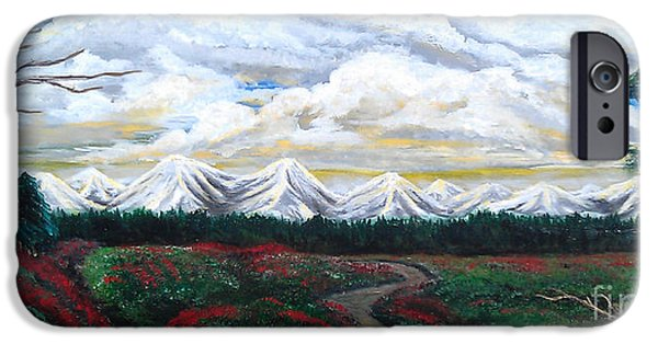 Erik Coryell iPhone Cases - Winter on the horizon.  iPhone Case by Erik Coryell